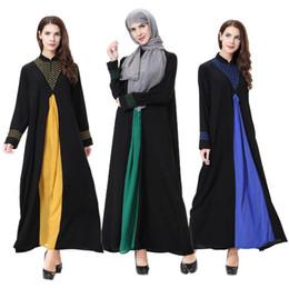 Wholesale Hijab S - Abaya Turkish Women Clothing Muslim Dress Islamic Jilbabs Abayas Musulmane Vestidos Longos Turkey Hijab Clothes Dubai Kaftan Longo Giyim