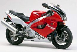 Yamaha thunderace red on-line-Carenagem Yamaha YZF1000 Thunderace 1996 1997 1998 1999 2000 2001 2002 96-02 Compressão vermelho FY9900