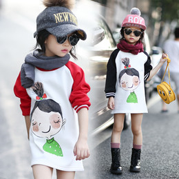 Wholesale Fashionable Boys Clothes - Wholesale- 3-14 Years Hoodies Kids Winter Hooded Sweatshirts Girls Children Clothes Fashionable Kids Long Tops Thicken Outerwear For Girls