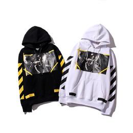 Wholesale Men Hoodi - Wholesale- Hight Quality Real Off White Brand Hoodie With the Off white Tags Religious Angel Jesus Fleece Hoodie Sweatshirts Cotton Hoodi