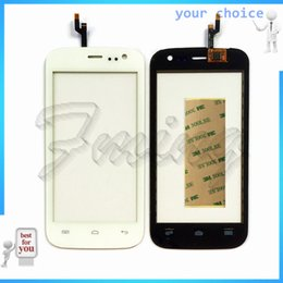 Wholesale Touch Screen Phone Replacement Glass - Wholesale- Phone Touchscreen Sensor For Explay Golf Touch screen Digitizer Window Front Glass Lens Replacement Touch Panel Stickers