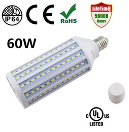 Wholesale Garage Cooling - E27 LED Corn Light Bulb for Indoor Outdoor Large Area for Street Lamp Post Lighting Garage Factory Warehouse High Bay Barn Porch Backyard