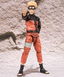 Wholesale Kakashi Action - 2 styles 15cm Naruto SHF Figuarts Sasuke Namikaze Hatake Kakashi PVC Action Figures Toys S.H Figuarts Susuke Naruto Figure