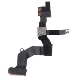 Wholesale Cable Fixing - New Original Durable Proximity Light Sensor Flex Cable Front Face Camera Fix for iPhone 5 5s 5c free DHL