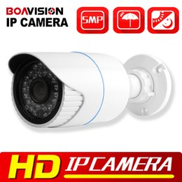 Wholesale High Resolution Wire Camera - XMEYE HD 5MP IP Camera Outdoor POE High Resolution H.265 H.264 Bullet Security CCTV Camera HI3516A+SONY IMX178(2592*1944),IR 20M