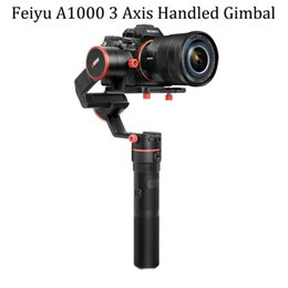 Wholesale Handheld Stabilizer - FeiyuTech Feiyu A1000 3-Axis Stabilizer Handled Gimbal for Micro-SLR A6500 A6300 iPhone 7 Plus Payload 150-1000g