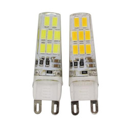 Wholesale Compact Led Bulbs - G9 LED 16LEDs SMD 5733 Bulb AC 220V 240V 16 led Corn Candle 5733 Light Replace 10W Compact Fluorescent Lamp For Chandelier
