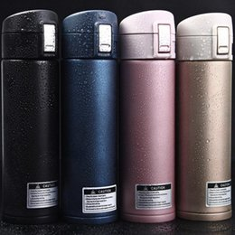 Wholesale Self Warming - Thermos CupThermo Mug Vacuum Cup Stainless Steel Bottle Thermal Bottle Insulated Tumbler Travel Thermocup Coffee Mugs