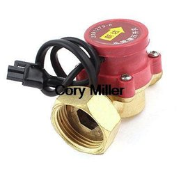 Wholesale Male Pumping - Wholesale- Normally Open Water Flow Sensor Switch for Pump 32mm Female to 21mm Male 260W