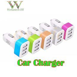 Canada Mode 5 V 3.1A Triple Port USB Voyage AC Chargeur Adaptateur Pratique 3 Adaptateur USB Chargeur De Voiture Pour Tablettes De Téléphone Mobile Offre
