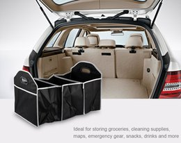 Wholesale Oxford Fabric Storage Box - Vehicle Car Trunk Foldable Folding Storage Organizer Item Tidy Box Sorting Bag Road Trips Tool Oxford Fabric Stowing Tidying 180767202