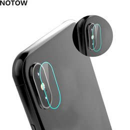 Wholesale Iphone Film Protector Case - 2017 NEW flexible Rear Transparent Back Camera Lens Tempered Glass Film Protector Case For iphone X
