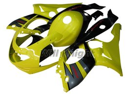 Wholesale Thundercat Fairings - Motorcycle Frame Injection Mold Complete Body Fairing Kit for YZF600R 97 - 07 Thundercat ABS Plastic Injection Mold Fairings Yellow Black