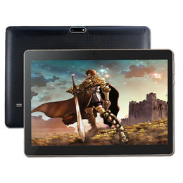 Wholesale 5mp Tablets - Wholesale- New 4G LTE tablet PC 10.1 INCH ips 1280x800 Android 5.1 phone call MTK6735 2GB 16GB Leather case Quad Core 2MP+5MP GPS WIFI