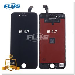 Wholesale Iphone Replacement Screens Wholesale - Grade AAA+ For iPhone 6 LCD Display Touch Screen Digitizer Assembly With Frame Repair Replacement For iPhone 6 Free shiping via DHL