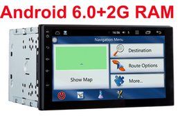 Wholesale Nissan Juke Radio - 2G RAM 2 din android 6.0 car dvd gps video player universal x-trail Qashqai x trail juke for nissan dvd gps in dash 3G wifi