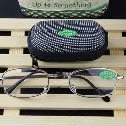 Mini gafas de lectura plegables con estuche Plegable + RX +1.0 a +4.0 Presbyopia Hyperopia Pocket Reader desde fabricantes