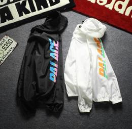 Wholesale Men Long Coat Jacket - Palace Jacket Men Women Fashion Trend Summer thin jacket Outwear Windbreaker Waterproof Palace Jacket Coats
