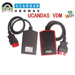 Wholesale Diagnostic Tool Polish Language - VDM UCANDAS V3.9 WIFI Full System Car Diagnostic Tool UCANDAS VDM Support Multi-Language Free Update Life-time