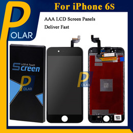 Wholesale Iphone Replacement Screens Wholesale - For iPhone 6S LCD Touch Screen AAA+ Quality LCD Display Assembly With 3D Touch Screen Digitizer iPhone Screen Replacement Full Stock