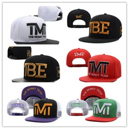 Wholesale Baseball Full Cap Hat - New Design Wholesale-Full black the team money Snapback caps hiphop adjustable hat men & women classic baseball Hats Cheap