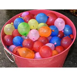 Wholesale Balloon Fight - 2017 New Summer Water Balloons of Refill Balloons Water Filled Balloon Summer Beach Pleasantly Cool Water Fight Team Games