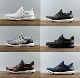 Wholesale Running Spring Shoes - 2017 Ultra Boost 3.0 4.0 men women Running Shoes Triple Black white CNY oreo blue UltraBoost Primeknit Shoes sports sneaker us5-11
