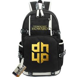 Centro de esportes ao ar livre on-line-Dwight Howard mochila basquete Power center saco de escola Center forward mochila Star schoolbag mochila ao ar livre pacote de dia de esporte