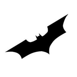 Wholesale Batman Car Window - 15*5CM Batman Bat Reflective Car Stickers Personalized Car Stickers Cover Scratches