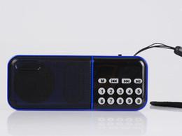 Portable digital radio mp3 en Ligne-Portable Hifi mini numérique FM radio haut-parleur hommes plus âgés Radio avec 18650 batterie portable lecteur MP3 amplificateur U disque TF carte SC-862