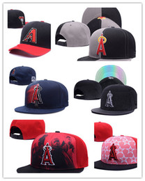 Wholesale Cheap Angels Hats - Wholesale Cheap colorful 2017 New Los Angeles Angels Baseball Cap Embroidery Logo Cooperstown Adjustable Hats Adult Fit Sports Cap
