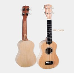 Wholesale Guitar Maple Birds - Soprano 21 inch Ukulele Uke Sapele 15 Frets Bird&Flower Pattern Nylon String 52.5 x 23 x 20cm Exquisite Ukulele Musical Instrument