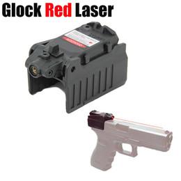 Wholesale Red Laser For Pistol - Tactiacl Compact Pistol Glock Red Laser Sight For Glock 17 18c 22 34 Series