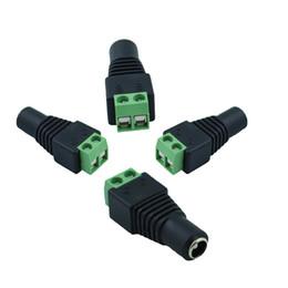Les prises femelles de connecteur de puissance de CC d'alimentation pour 3528 SMD 5050 SMD ont mené la lumière de bande 5.5 x 2.1mm ? partir de fabricateur
