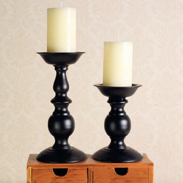 Wholesale Party Matches - Best Selling Iron Candlestick Retro Style Candle Holders Wedding Candle Holder Party Supplies Home Decoration JM0263