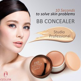 Wholesale Skin Cover Bb Cream - LouMes'I BB Cover-flaw Concealer Cream Waterproof SPF30 Moisturizing Concealers Smooth Full-Coverage Professional Make up Foundation Cream
