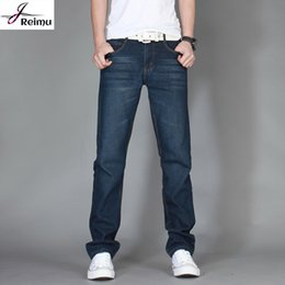 Wholesale Cheap Straight Jeans For Men - Wholesale-New Arrival Famous Brand 2016 Jean Jumpsuits For Men High Quality Luxury Brand Men Jeans Oversized China Cheap Jeans Hot Sale