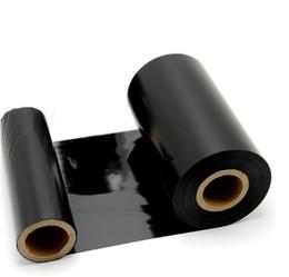 formatador hp Desconto Fita de alta qualidade da impressora da fita da resina de 110mm * 300m para a impressora térmica da etiqueta de transferência