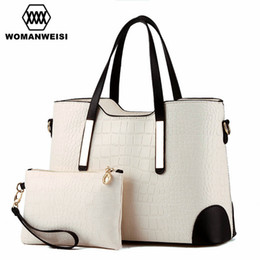 Wholesale Body Sets Brands - Wholesale- Luxury Women Bags 2016 Brand New Designer Purses And Handbags Set Fashion Leather Lady Messenger Cross-body Bags Sacoche 8 Color