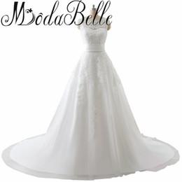 Wholesale Sexy Hochzeitskleid - Arab Wedding Dresses Hochzeitskleid 2017 With Detachable Train Vestida De Noiva Wedding Dress Real Robe De Mariee Under 100
