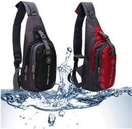 Wholesale Korean Cross Body Bags - Men Bags Nylon Chest Diagonal Package Fashion Korean Messenger Shoulder Bag Waterproof Casual Small Bag