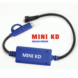 Wholesale Audi Makers - Mini KD Remote Key Maker  Support Android Phone  PAD Make More Than 1000 Auto Remotes Function as KD600, URG200 Free shipping