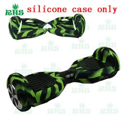 Wholesale Self Balance - 6.5 inch Hoverboard Electric Scooter Protective Silicone Case Self Smart Balance Scooter 2 Wheels 5 Colors Silicone Skin Case Cover Part