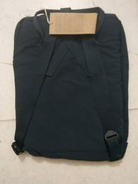 Wholesale School Boy Bags - High quality canvas material bags fashion brand Handbags men and women backpack children school school bag multiple colors optional