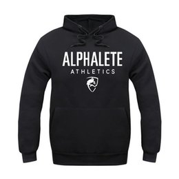 Wholesale Polar Long - Wholesale-New in the autumn of 2016 Alphalete sharkh spring Hoodies polar impressions man clothingHip hop sweat