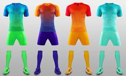 Wholesale Sets Sportswear - free deliver 17-18 now breathable soccer jerseys sets paintless training pants suit sportswear,soccer uniforms Camisetas De Futbol Jersey