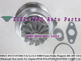turbo chra Rabatt Turbo CHRA Patrone TD02 49173-07502 0375J0 0375Q2 9682881780 1684949 0375Q5 0375Q4 0375N0 Für Peugeot Berlingo Citroen C4 1.6L DV6ATED4