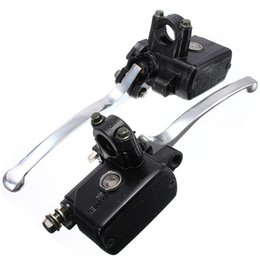 Wholesale Motorcycle Clutch Brake Cylinders - 7 8inch 14mm Motorcycle Hydraulic Brake Clutch Lever Master Cylinder Left Right