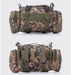 Bolsas de deportes multifuncionales mochilas de senderismo marrón Bolsas de cintura táctica cintura bolsa de la bolsa correa para correr bolsa de cintura ciclismo desde fabricantes