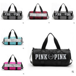Wholesale Soft Luggage - 2017 Canvas secret Storage Bag organizer Large Pink Men Women Travel Bag Waterproof Victoria Casual Beach Exercise Luggage Bags